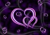 Puzzle Un amour violet