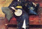 Jeu puzzle kimono bleu - William Merit CHASE