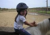 Jeu puzzle Marie Soleil fait de l'équitation