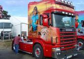 Puzzle en ligne camion décoré
