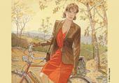 Puzzles Fille à bicyclette