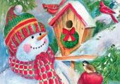 Puzzle Puzzle en ligne bonhomme de neige