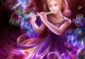 Puzzle Jeune flutiste