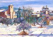 Puzzle gratuit paysage provençal