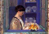 Puzzle femme vue de la fenêtre - Friesek