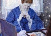 Dame aux bijoux - Frieseke