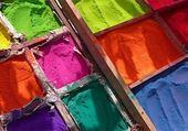 Puzzle Pigments Indiens