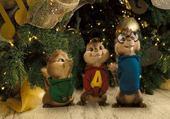 Puzzle Jeux de puzzle : Alvin et les chipmunks à Noël