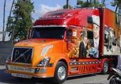 Puzzle camion décoré