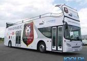 Puzzle en ligne bus décoré