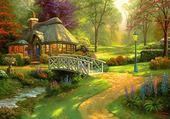 Puzzle Friendship cottage
