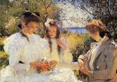 Jeu puzzle les trois soeurs-franck w.Benson