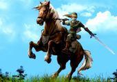 Jeu puzzle zelda cheval