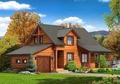 Puzzle gratuit Maison en bois