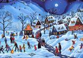 Jeux de puzzle : jeux dans la neige