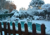Puzzle piscine hiver