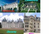 Jeux de puzzle : Les châteaux de la Loire