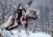 Puzzle la fée & le dragon