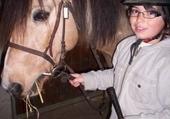 Puzzle en ligne moi and cheval