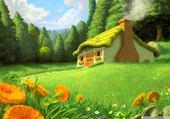 Puzzle Puzzle Fantasy landscape