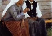Puzzle paysannes suédoises - A.Edelfelt