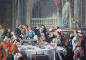 Jeux de puzzle : Le déjeuner d'huîtres