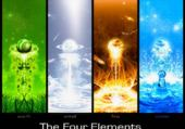 Puzzle gratuit Les 4 éléments