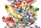 Puzzle Puzzles grenouille