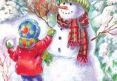 Puzzle en ligne bonhomme de neige