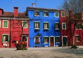 Puzzle gratuit maisons de couleurs