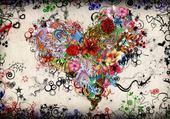 Jeux de puzzle : coeur Saint-Valentin