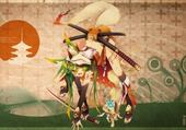 Jeux de puzzle : drôle de samouraî