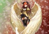 Jeux de puzzle : manga ange