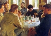 le repas-peder severin kroyer