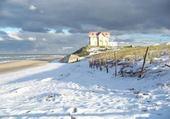 Puzzle gratuit Neige à la plage..