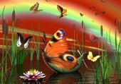 Puzzle gratuit papillons