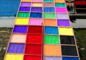 Jeu puzzle couleurs