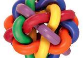 Jeux de puzzle : boule multicolore