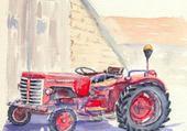 Puzzle tracteur
