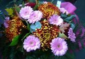 Jeu puzzle fleurs