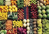 Jeux de puzzle : fruits et legumes
