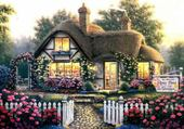 Jeux de puzzle : Maison magnifique
