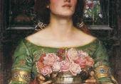 Puzzles le vase de roses - Mary Cassatt