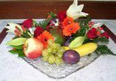 Jeux de puzzle : composition fruits. legumes,fleur