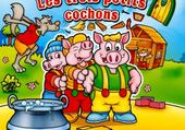 Puzzle trois petits cochons