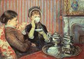 la tasse de thé - mary cassatt