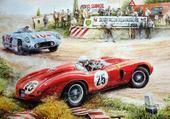 Jeu puzzle course de voitures
