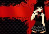 Puzzle jeune fille gothic