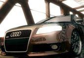 Jeu puzzle Audi A4
