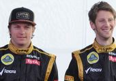 Puzzle pilotes lotus F1